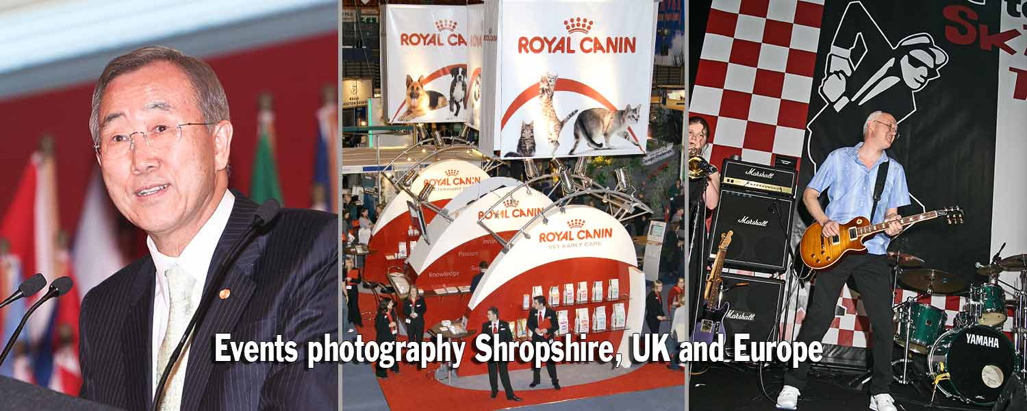 Events Photography Shropshire, Cheshire, West Midlands